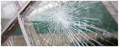 St Helens Smashed Glass